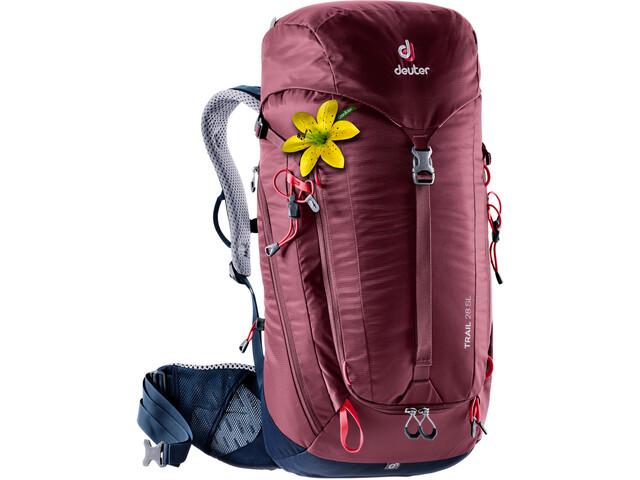 deuter Trail 28 SL Rugzak Dames, rood